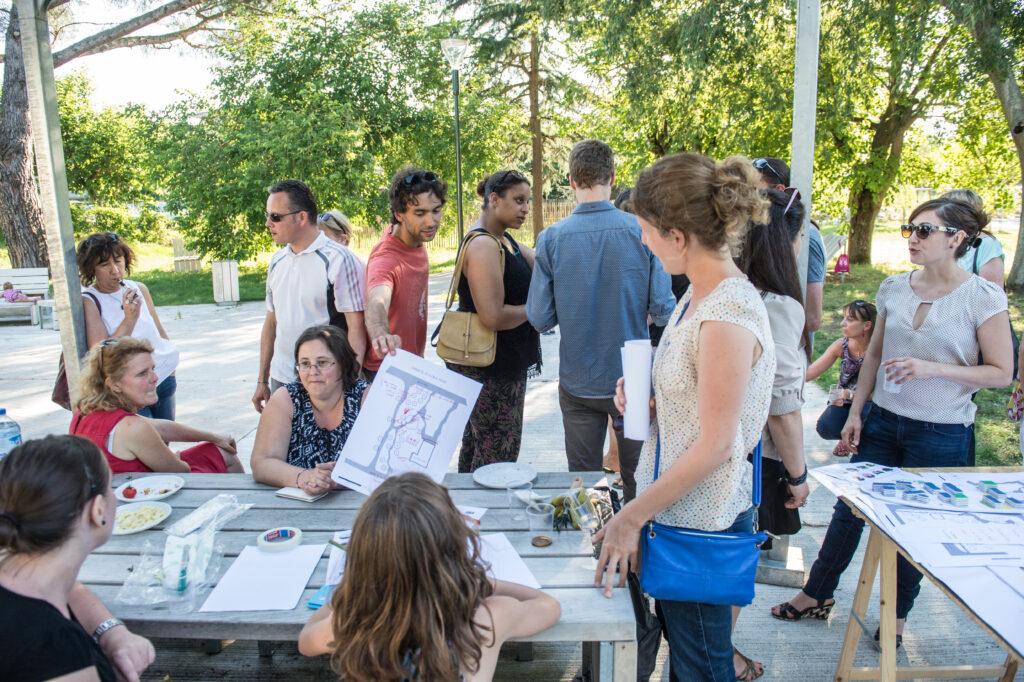 les habitants participent à la réflexion sur l'aménagement des espaces publics